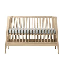 Natural Crib Mattress by Leander Linea Crib Mattress Sold Separately In Natural Oak
