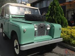 land rover green rover series ii