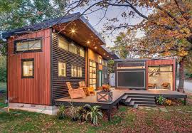 modern double tiny house with towable recording studio design and