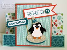colour me happy sweet penguin for cara
