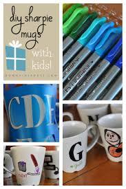 diy sharpie mugs with kids