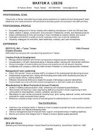 Summary Resume Sample by Creative Director Resume Resume Example
