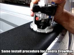 toyota tundra accessories 2010 bullring installation toyota tundra crewmax low profile