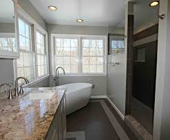Senior Bathroom Remodel Parkton Freestanding Tub Bathroom Taylor Made Custom Contracting