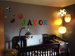 diy baby boy sports themed nursery ideas
