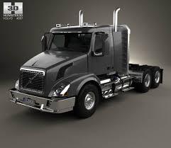 2013 volvo truck commercial volvo vnx 300 tractor truck 2013 3d model hum3d