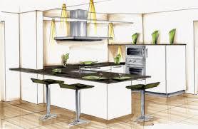 dessiner une cuisine en perspective cuisine perspective concevoir et dcrire un agencement de cuisine