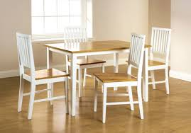 oak and white dining room set white oak dining room table and