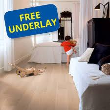 Acoustic Underlay For Laminate Flooring Quick Step Impressive Im3105 White Varnished Oak Laminate Flooring