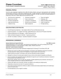 Customer Service Sample Resumes by Download Aircraft Performance Engineer Sample Resume