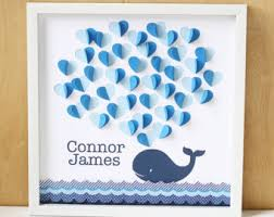 whale themed baby shower whale baby book etsy