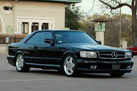 mercedes 560 sec amg for sale 1988 mercedes 560sec coupe amg wheels 6speedonline