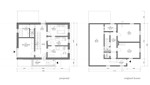ground floor plan gallery of chalet in krkonoše znameni ctyr architekti 21