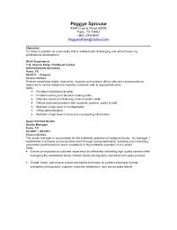 Secretary Resume Secretary Resume