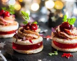 recette canape recette de canapés à la mousse de canard légère et gelée de cranberries