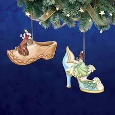 disney once upon a slipper ornament 10 bradford exchange ornament