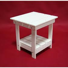 Adirondack Coffee Table - side table plastic outdoor coffee table small plastic garden