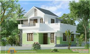 home design for 650 sq ft 1161 square feet small house elevation kerala home design and