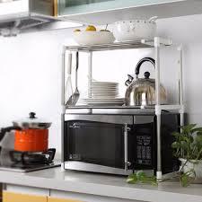 Metal Storage Shelves Online Get Cheap Metal Microwave Shelf Aliexpress Com Alibaba Group