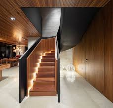 stair design stair design idea include hidden lights to guide you at night