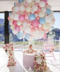 baby girl birthday themes fab baby girl s birthday up up and away