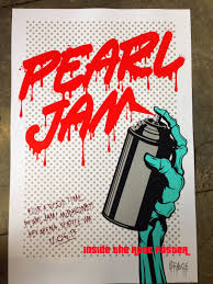 Pearl Jam Halloween Shirt Inside The Rock Poster Frame Blog Pearl Jam Seattle Poster By D