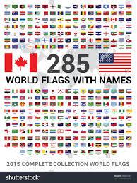 vector set 285 world flags sovereign stock vector 339881687