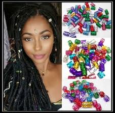 dreadlock accessories filigree hair accessories for braids gold silver rainbow