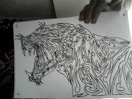 tribal jaguar by aje3150 on deviantart