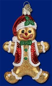 gingerbread figurines and ornaments decor