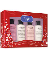 philosophy 4 pc the sweet ticket gift set gifts value sets