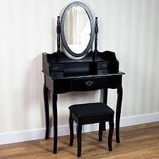 tabouret de chambre generic dyhp a10 code 6479 class 1 noir maquillage desk keup