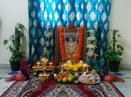 hindu decorations for home ganesh chaturthi decoration ideas decorations