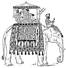 coloring elephant india dl13357 jpg 877 900 pixels color