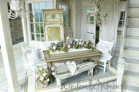 cinderella moments dollhouse shabby chic dining room set