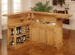 Wet Laminate Flooring - bar classic home bar cabinets with side wine storage brown