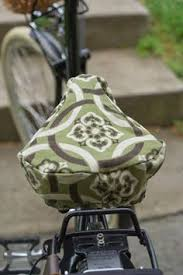 Bike Seat Upholstery Bike Seat Cover Great Tutorial I Whipped Up One Of These Last
