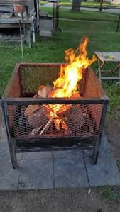 Horseshoe Fire Pit by 15 Inch Rim Fire Pit Made By Wayne Hornos Etc Pinterest