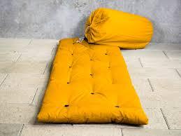 Matelas D Appoint Futon Matelas Futon D Appoint 1 Personne 70x190 Bed In Bag Ocre