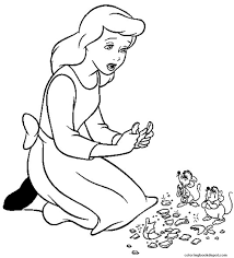 princess sad cinderella s for kidsf879 coloring pages