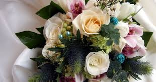 flowers to go wedding flowers to go with teal dresses teal wedding inspiration