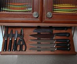 knife storage and knife blocks organize it