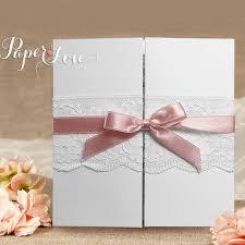 personalised wedding invitations vintage lace beautiful gatefold