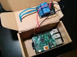 garage door opener circuit abraboxabra u2013 controlling garage door using raspberry pi android