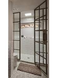 10 glamorous baths metal factory window edition shower