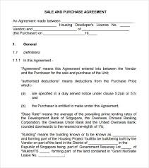 sample buy sell agreement 7 free documents in pdf word