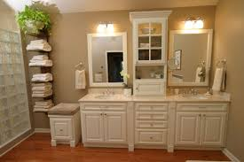 glass block bathroom ideas extensive bathroom small wood storage cabinets with doors aside