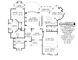 chamberlin ii house plan house plans by garrell associates inc