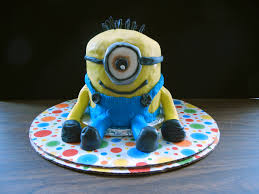 despicable me minion cake u2013 bakers and best