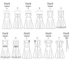 b4443 butterick patterns sewing patterns